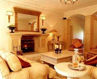 Guest Lounge, Franschhoek Country House & Villas, Franschoek in the Cape Wine Lands