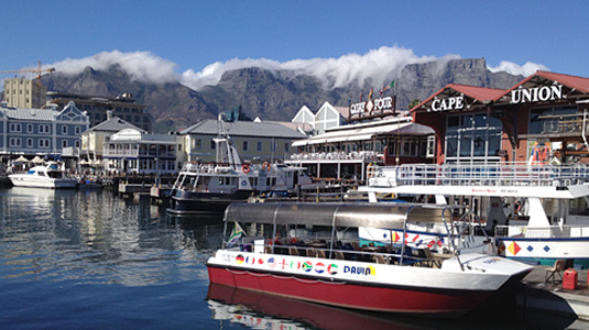 Cape Town's V&A Harbour - Victoria and Albert