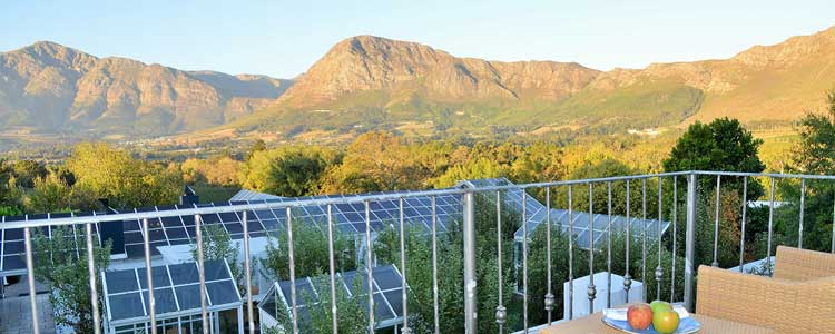 Deluxe Twin balcony, Le Franschhoek Hotel and Spa